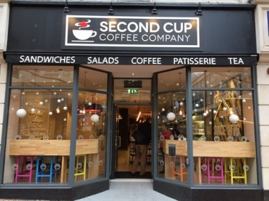 second cup front